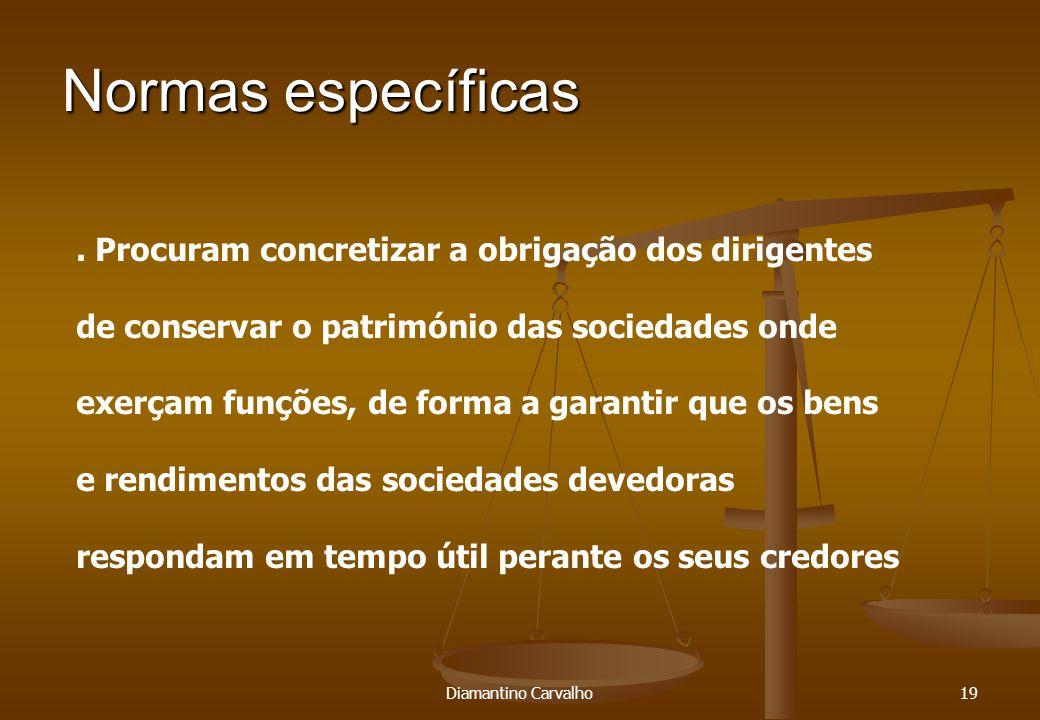 Normas específicas 19.