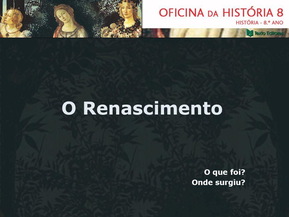 O Renascimento O que foi? Onde surgiu?