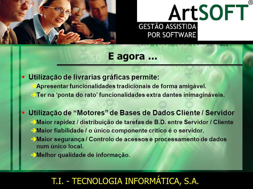 T.I. - TECNOLOGIA INFORMÁTICA, S.A. E agora...