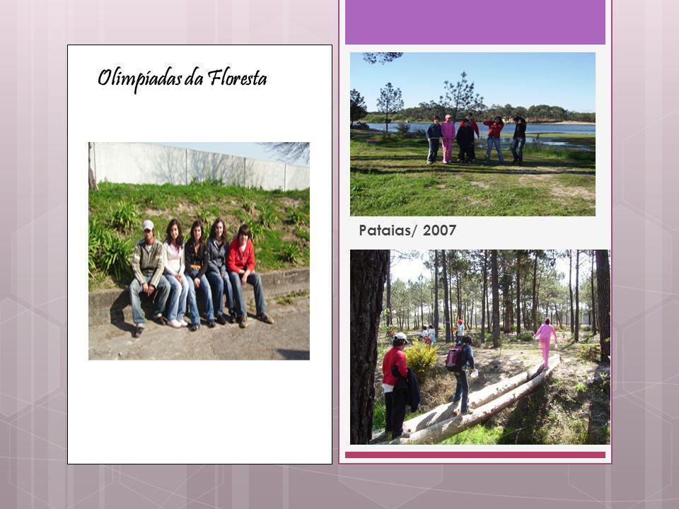 Olimpíadas da Floresta Pataias/ 2007