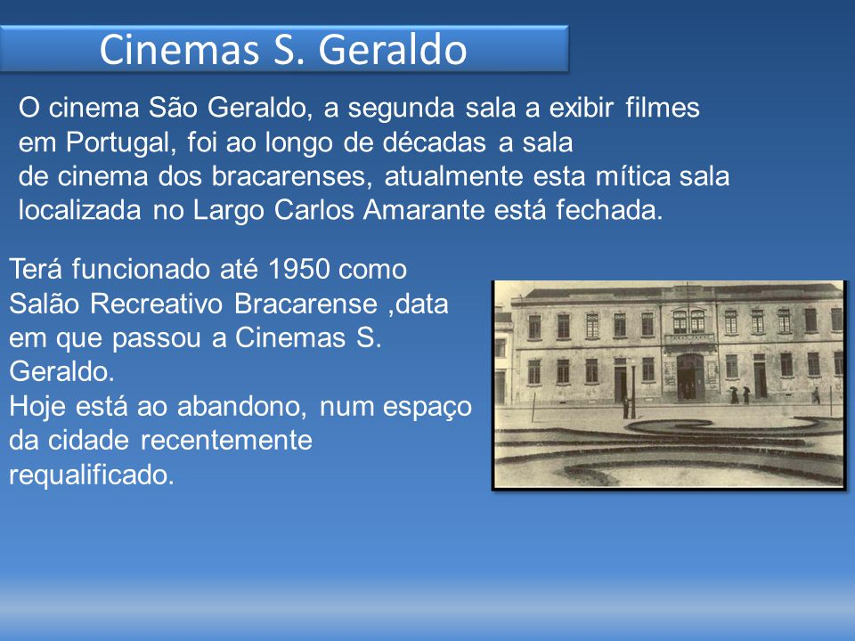 Cinemas S.