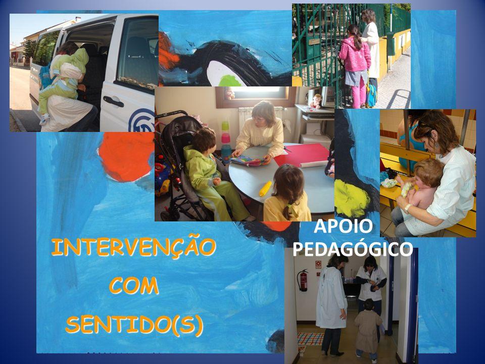 INTERVENÇÃO COM SENTIDO(S) APOIO PEDAGÓGICO