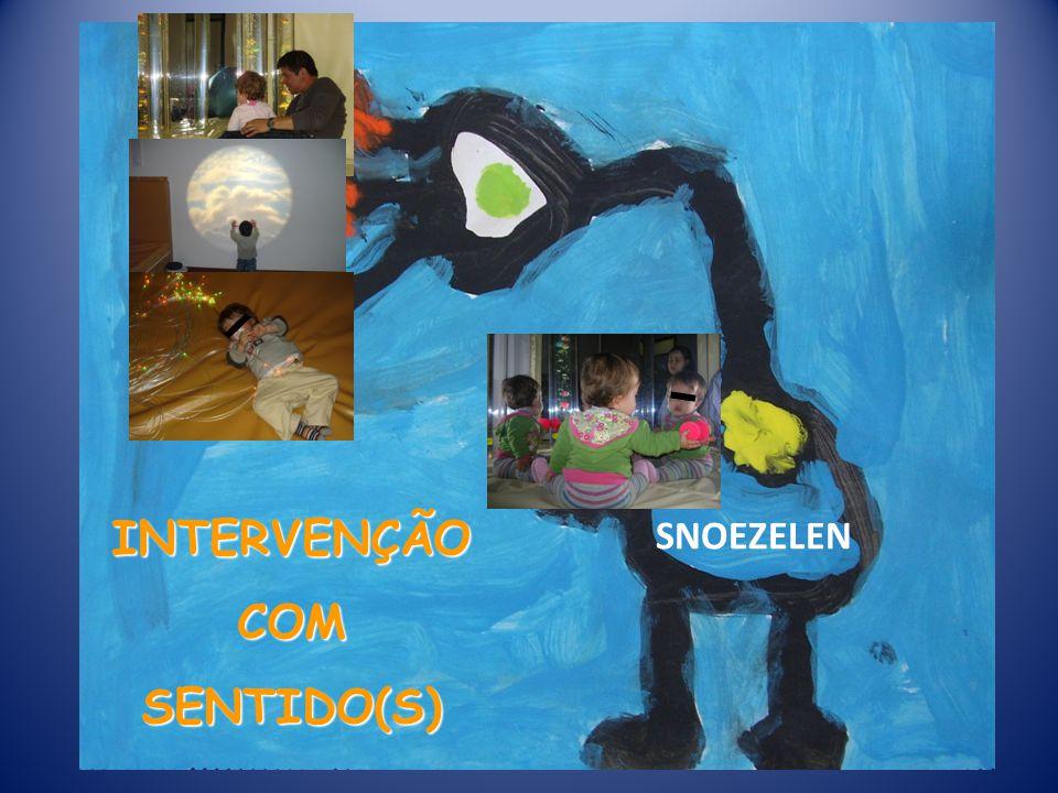 INTERVENÇÃO COM SENTIDO(S) SNOEZELEN