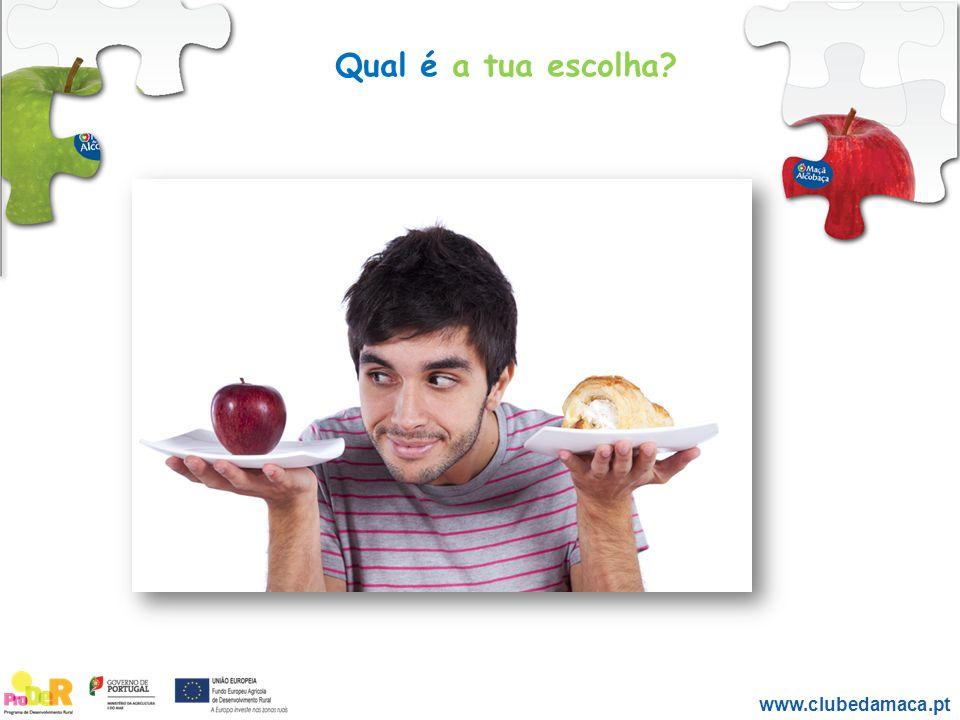 Laranja Qual é a tua escolha? www.clubedamaca.pt