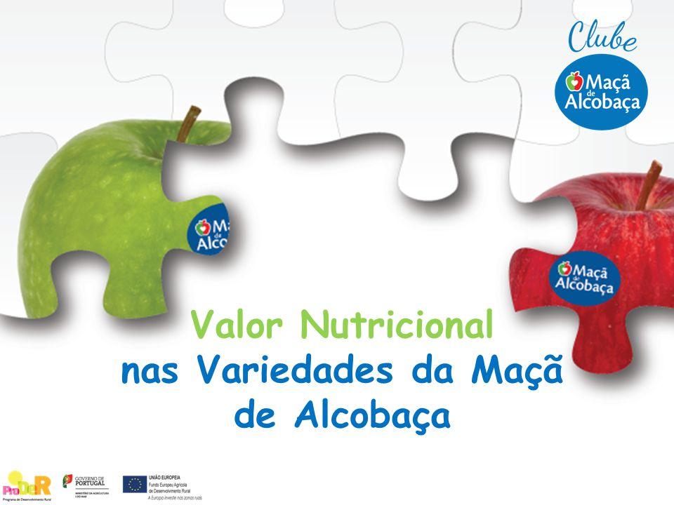Valor Nutricional nas Variedades da Maçã de Alcobaça