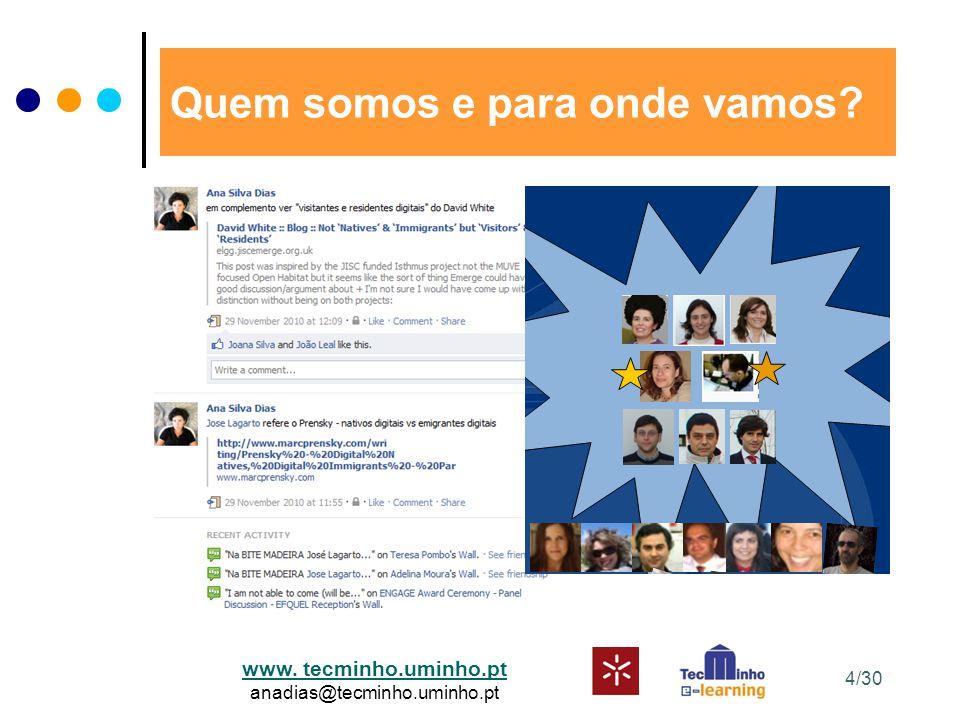 www. tecminho.uminho.pt anadias@tecminho.uminho.pt Quem somos e para onde vamos 4/30