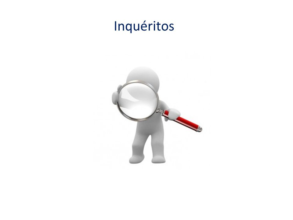 Inquéritos