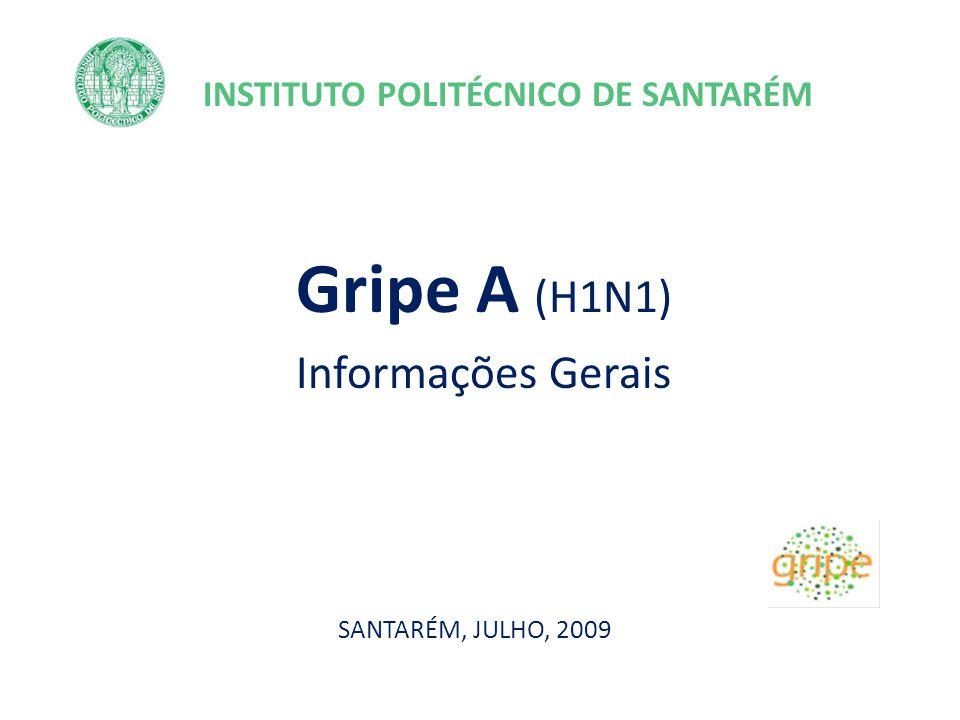 PLANO DE CONTINGÊNCIA GRIPE A (H1N1) DO IPS Primeira pandemia do Século XXI Pandemia 2009 A(H1N1) Gripe A