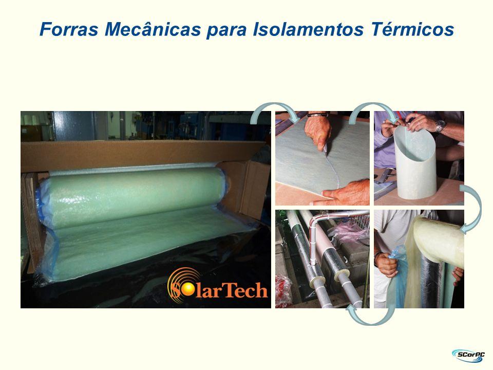 Forras Mecânicas para Isolamentos Térmicos