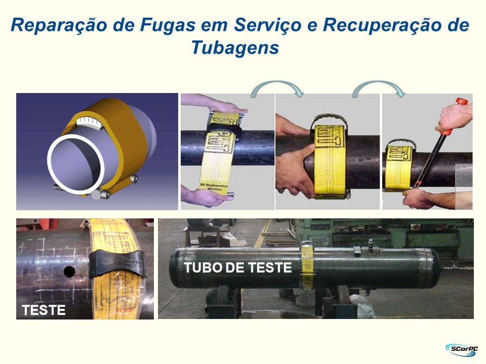 Reparação de Fugas em Serviço e Recuperação de Tubagens TESTE TUBO DE TESTE