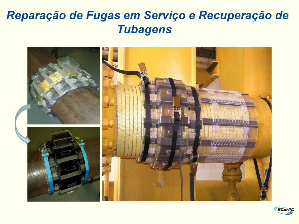 Recuperação de Tubagens e Pipelines em Serviço com o Sistema 3Xeng.