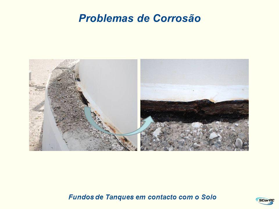 Fundos de Tanques em contacto com o Solo Problemas de Corrosão