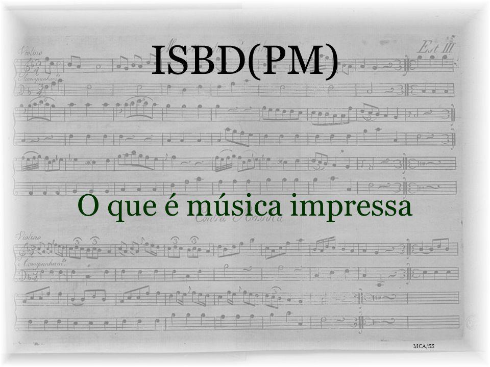 ISBD(PM) Vantagens MCA/SS