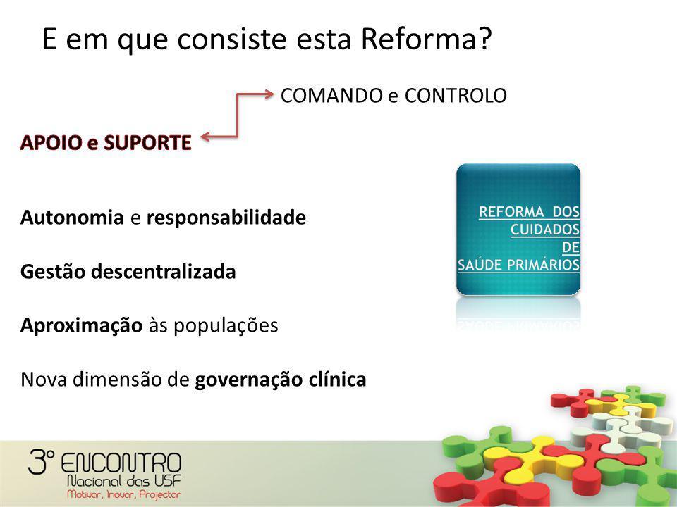 E em que consiste esta Reforma?