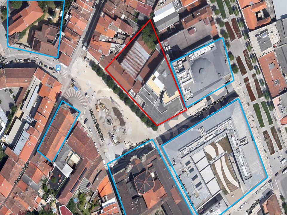 Cinema S.GeraldoShopping St. Cruz Igreja S. Marcos Casa dos CoimbrasIgreja St.