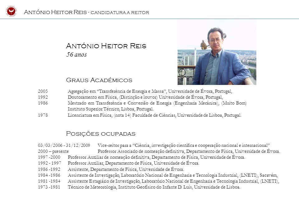 Docência 1986 - 2010 Termodinâmica ; Complementos de Termodinâmica; Termodinâmica Aplicada; Termodinâmica dos Processos Irreversíveis; Transferência de Energia e Massa; Complementos de Termodinâmica e de Física Estatística; Física Estatística; Física I; Física dos Meios Contínuos; Métodos Matemáticos da Física I; Métodos Experimentais da Física I; Temas Actuais de Física; Física Quântica; Energias Renováveis; Equipamentos Térmicos; Climatologia; Micrometeorologia da Camada Limite.