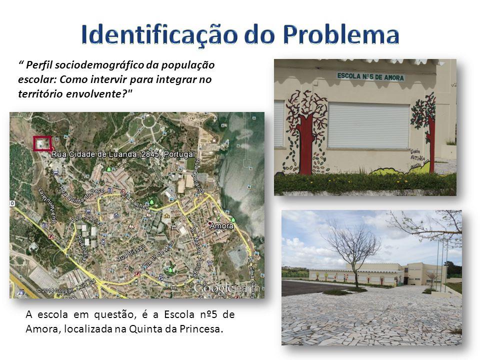 A escola em questão, é a Escola nº5 de Amora, localizada na Quinta da Princesa.