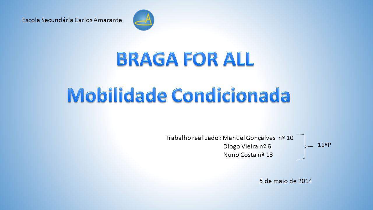 Trabalho realizado : Manuel Gonçalves nº 10 Diogo Vieira nº 6 Nuno Costa nº 13 Escola Secundária Carlos Amarante 11ºP 5 de maio de 2014