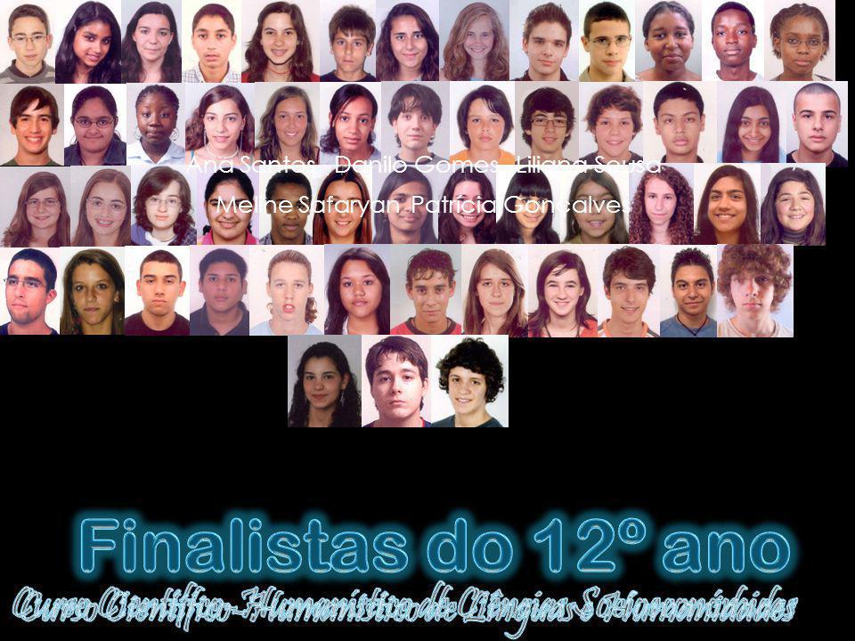 Ana Santos Danilo Gomes Liliana Sousa Meline Safaryan Patrícia Gonçalves