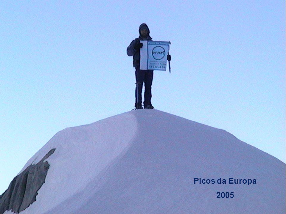 Alpinismo: Picos da Europa 2005