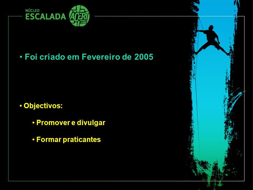 Foi criado em Fevereiro de 2005 Objectivos: Promover e divulgar Formar praticantes