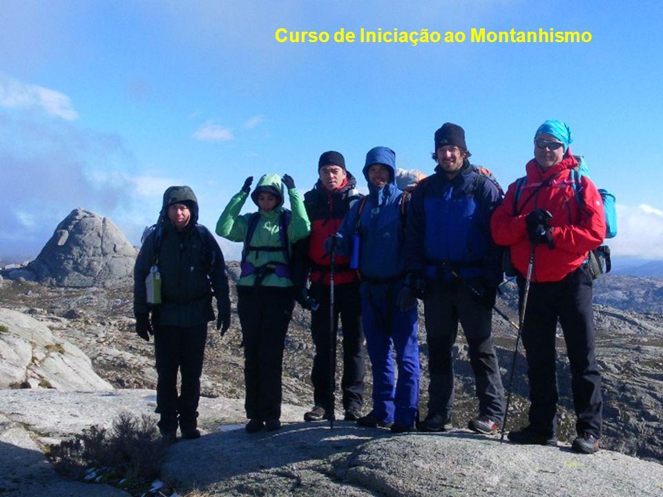 Abertura de Vias de Escalada: Caramulinho Figueiró do Vinhos Açores Curso de Iniciação ao Montanhismo