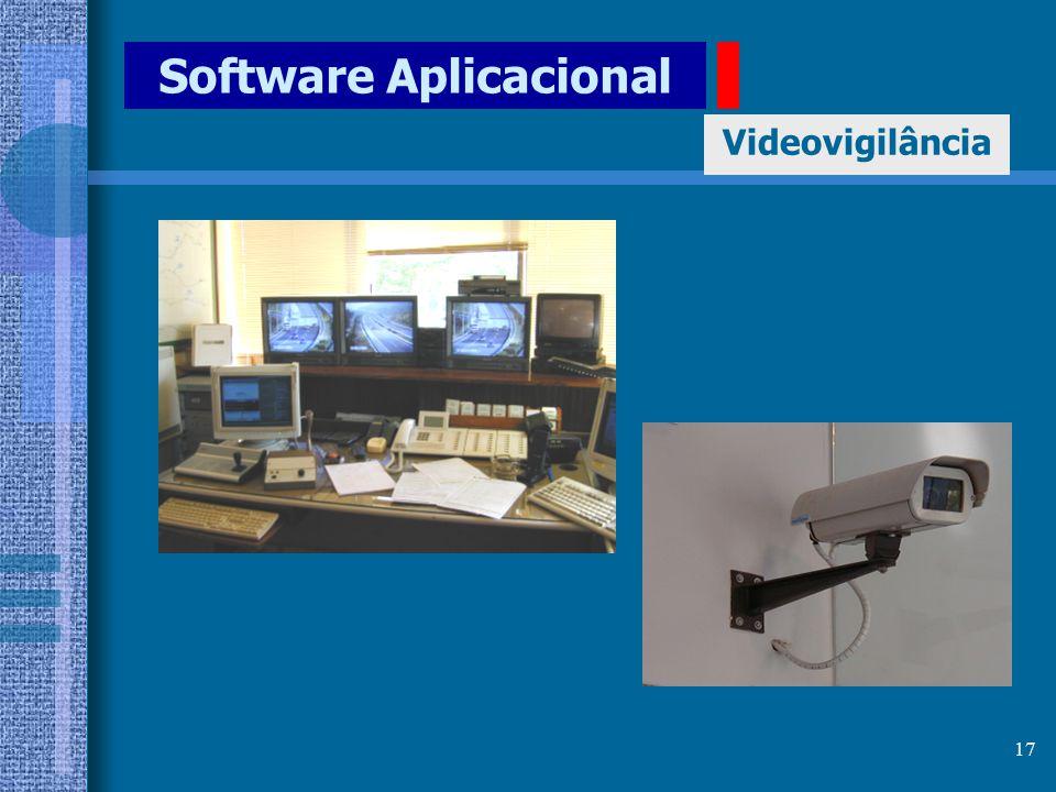 16 Software Aplicacional Videovigilância