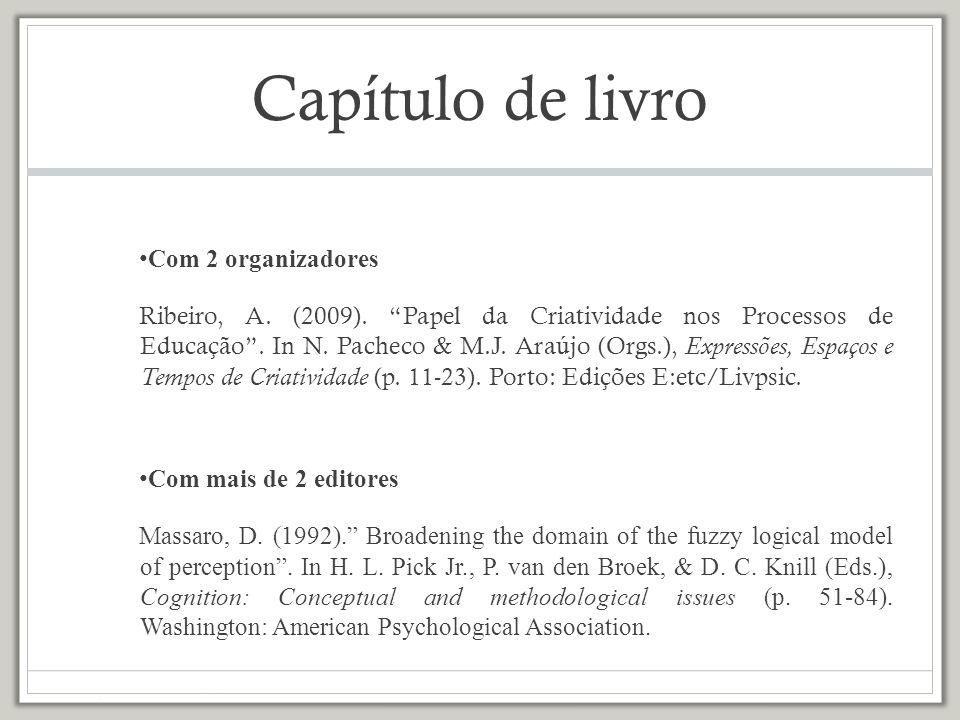 Comunicação em Congresso, Simpósio ou Seminário Mota, G.