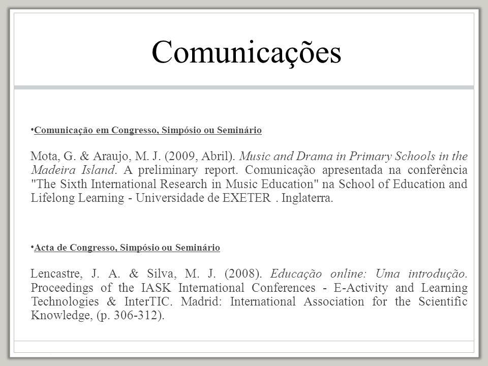 Tese de doutoramento Rothes, L.(2005).