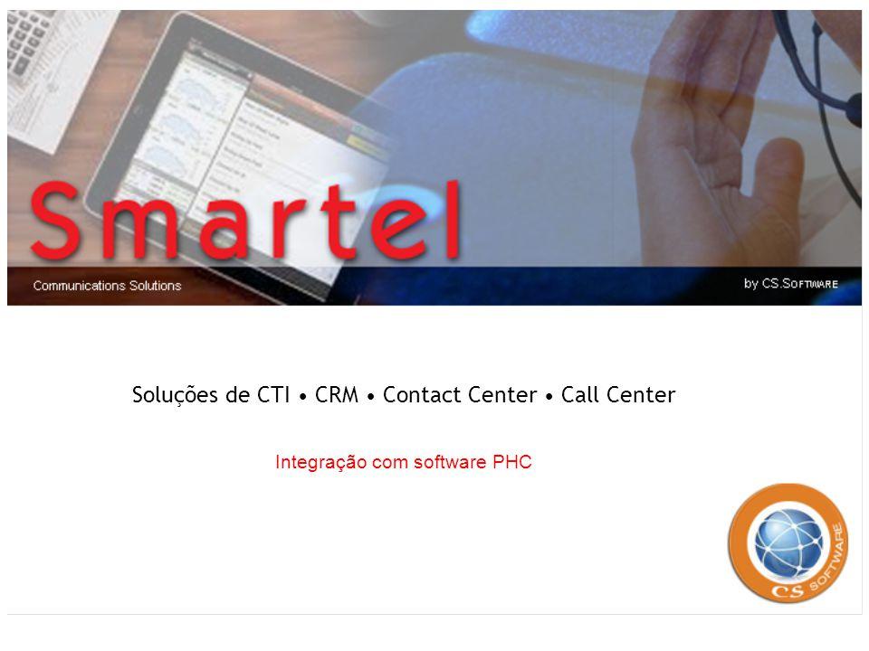 Soluções de CTI CRM Contact Center Call Center Integração com software PHC
