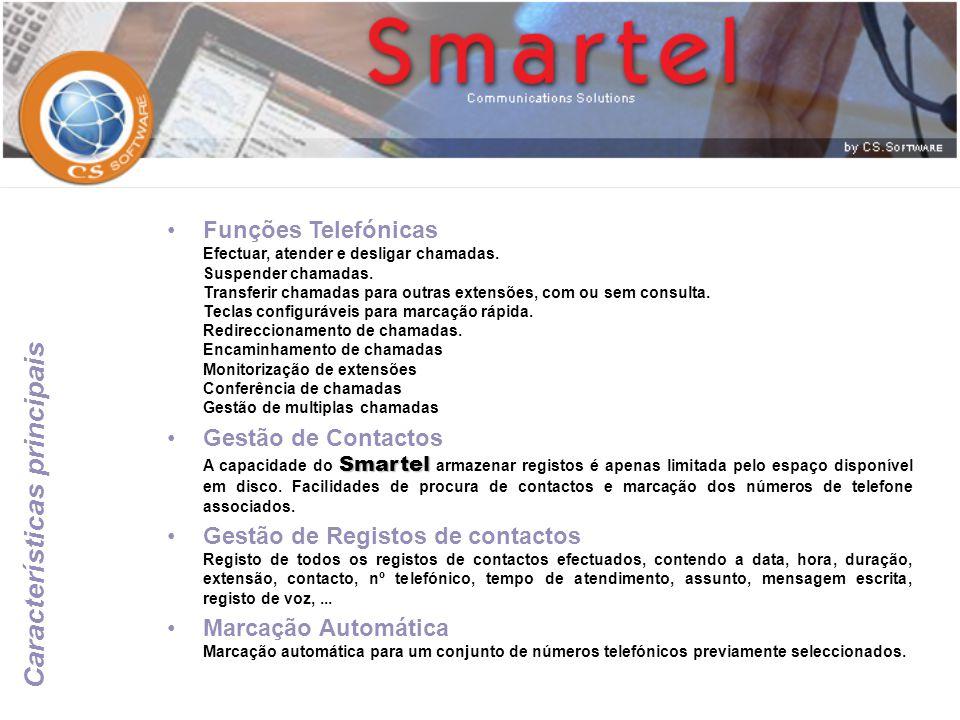Calendário Agenda para marcação de compromissos, chamadas telefónicas, tarefas a realizar, enviar e-mail's,...