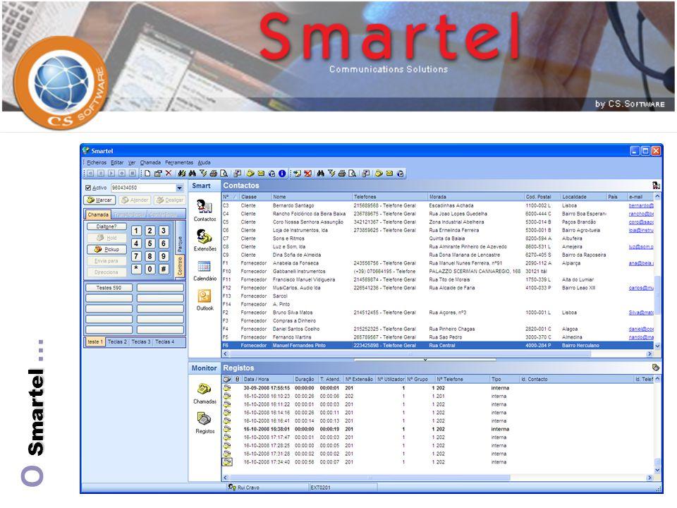 Smartinf Smartel  Estabelece uma interface de ligação entre o Smartel e bases de dados existentes no cliente.