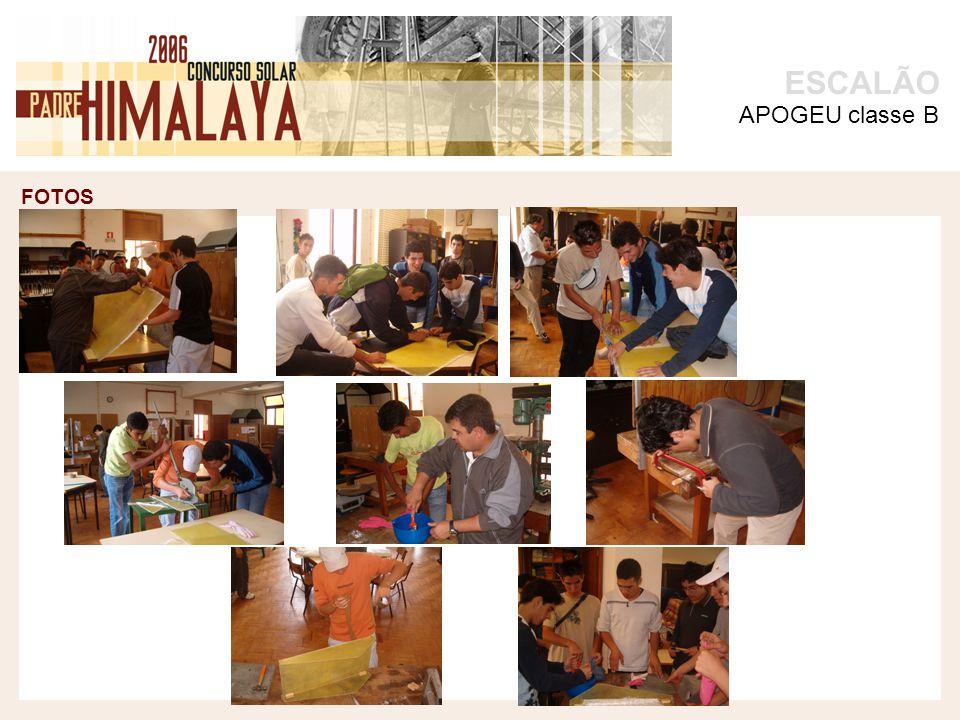 FOTOS ESCALÃO APOGEU classe B