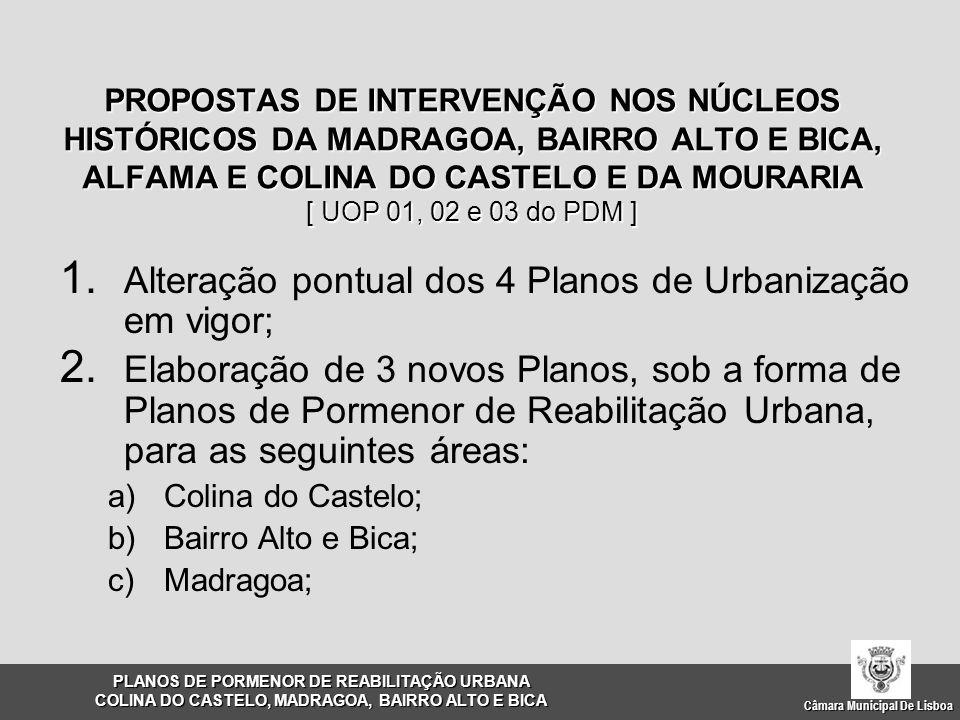 Câmara Municipal De Lisboa 1.Castelo, Alfama e Mouraria 2.