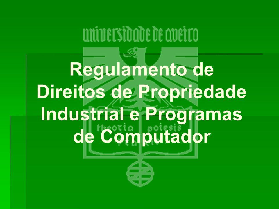 Regulamento de Direitos de Propriedade Industrial e Programas de Computador