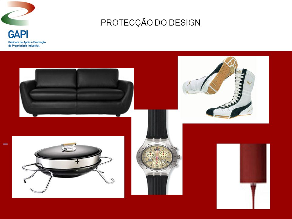 PROTECÇÃO DO DESIGN