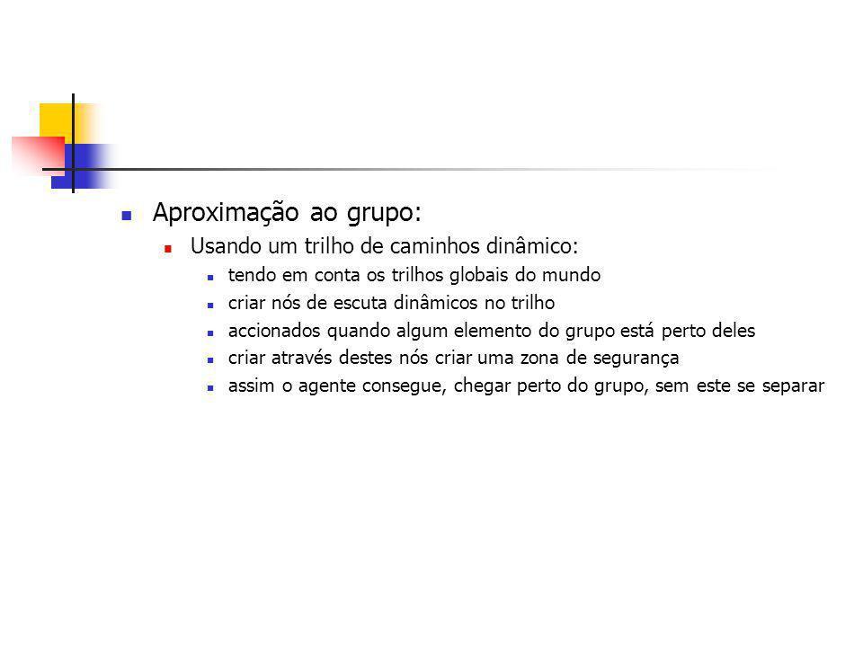 Objectivo Mostrar que vários agentes controlam melhor o grupo do que um agente.