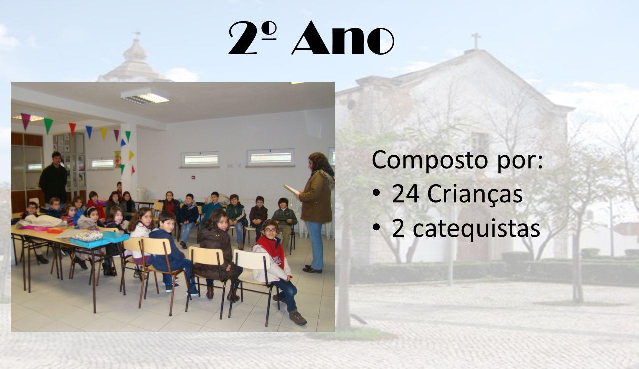 2º Ano Composto por: 24 Crianças 2 catequistas