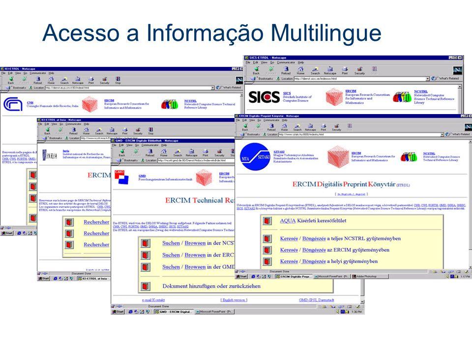 Acesso a Informação Multilingue