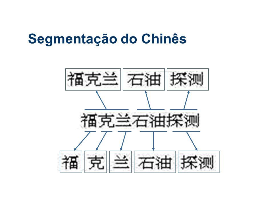 Segmentação do Chinês