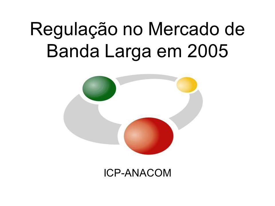 Regulação no Mercado de Banda Larga em 2005 ICP-ANACOM