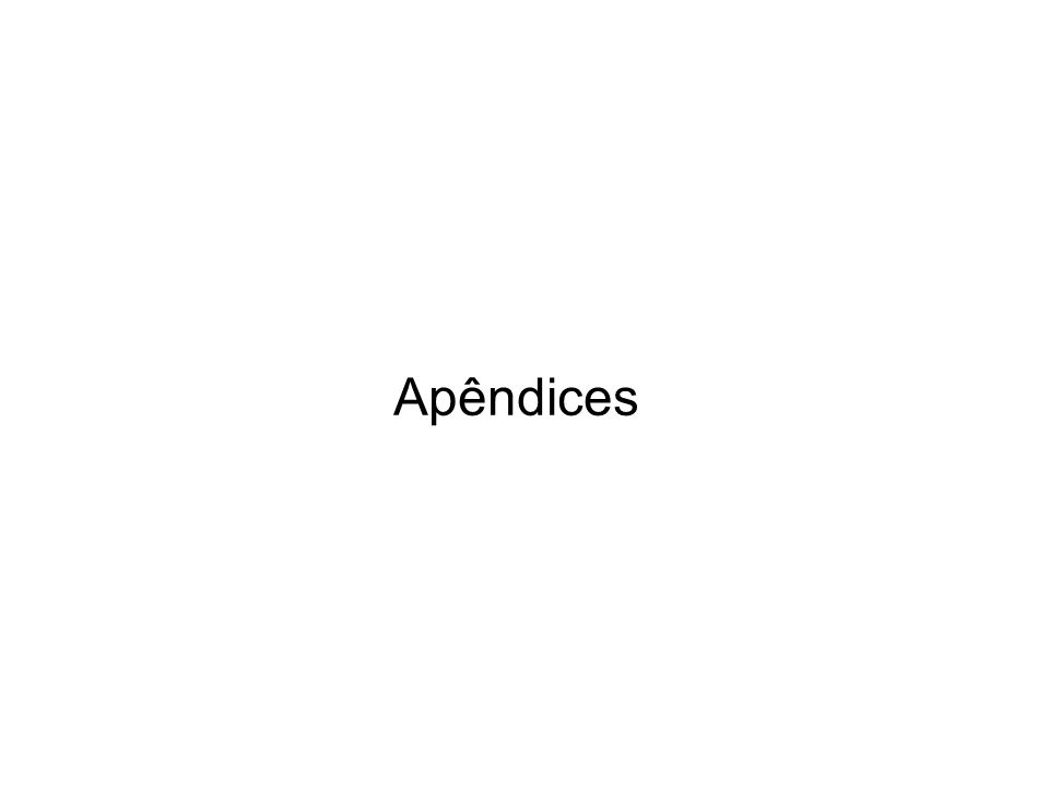 Apêndice 3 - Arquitectura