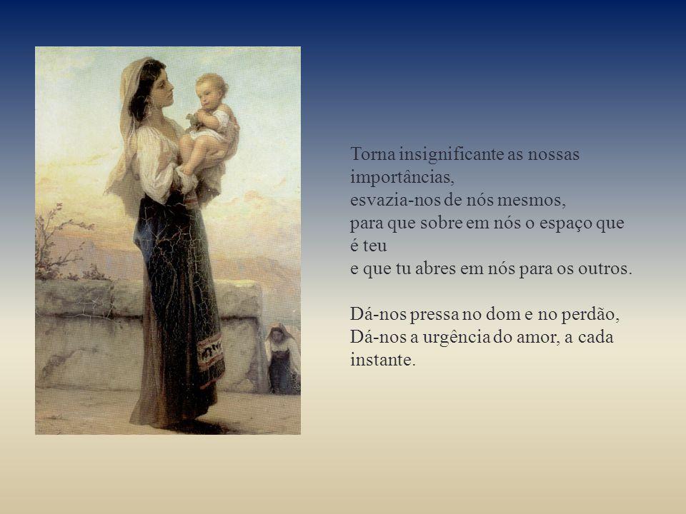 Menino de Belém Para o ano novo de 2013 dá-nos, no presente, mais tempo para ti, vence-nos o medo do futuro, com a certeza da tua proximidade, cura-nos do passado, com a suavidade do teu amor.