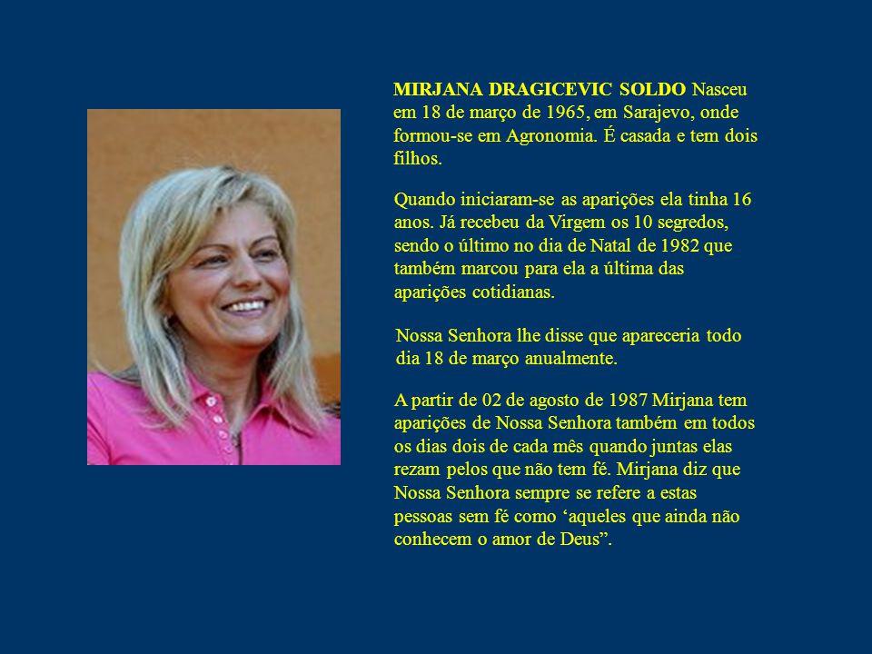 Mensagem de Nossa Senhora à Mirjana Medjugorje 02 de abril de 2008