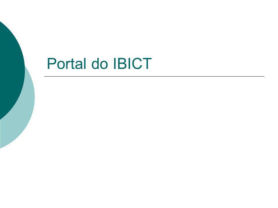 Portal do IBICT