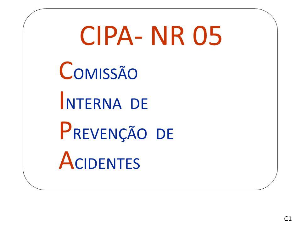 O treinamento para o pessoal que integrará a CIPA deve ter carga horária de vinte horas, distribuídas em, no máximo, oito horas diárias, e deve ser realizado fora do expediente normal da empresa.
