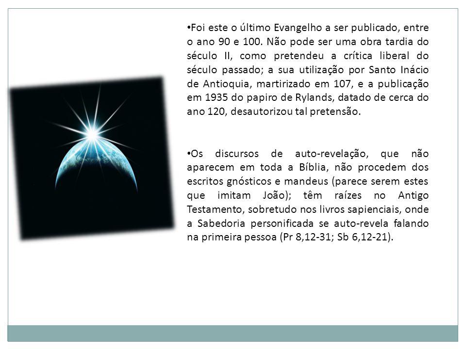 DIVISÃO E CONTEÚDO Prólogo (1,1-18): uma solene abertura, que anuncia as idéias mestras.