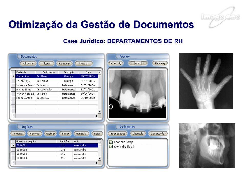Case Jurídico: DEPARTAMENTOS DE RH Otimização da Gestão de Documentos