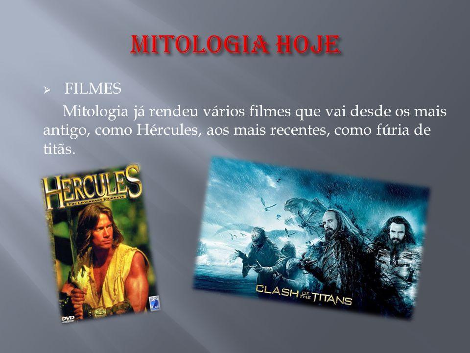  FILMES Mitologia já rendeu vários filmes que vai desde os mais antigo, como Hércules, aos mais recentes, como fúria de titãs.