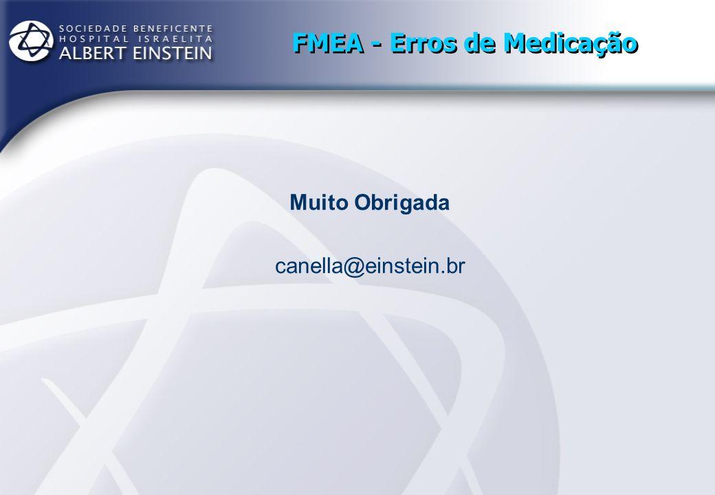 FMEA - Erros de Medicação Muito Obrigada canella@einstein.br